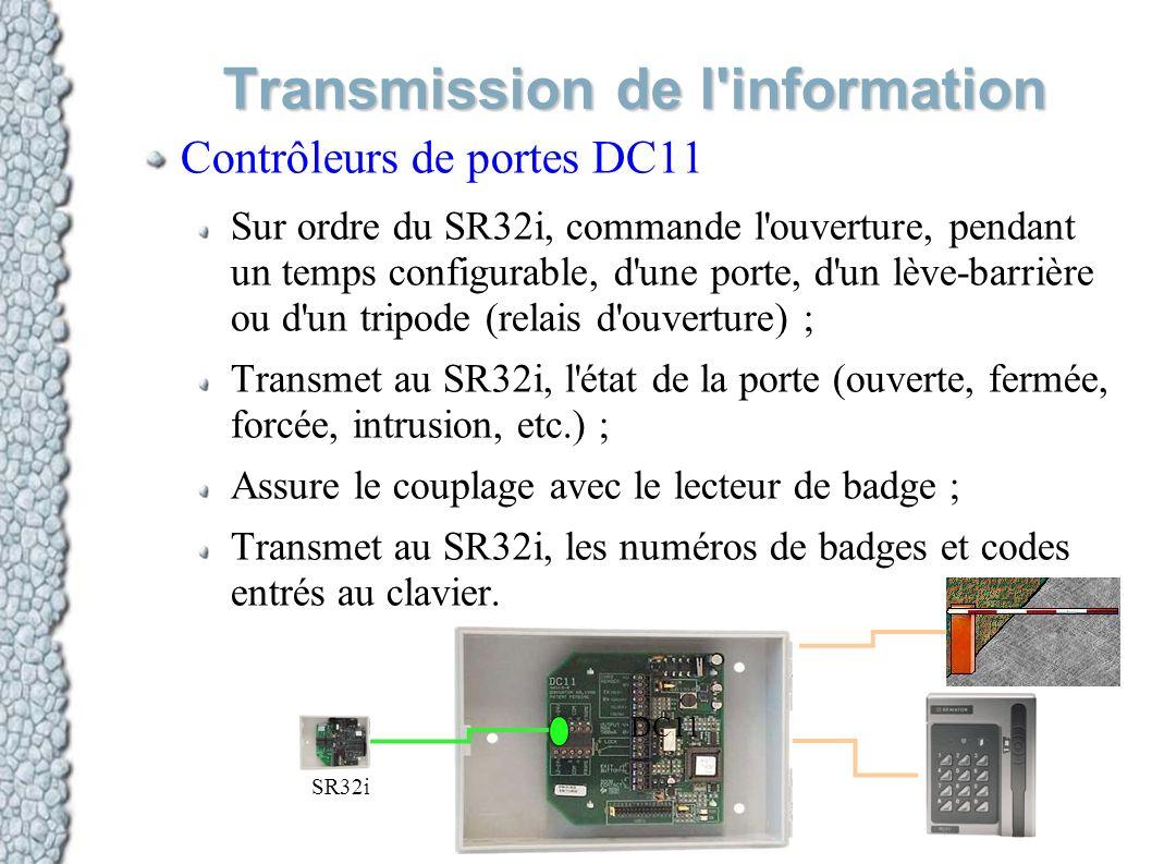 Transmission de l information