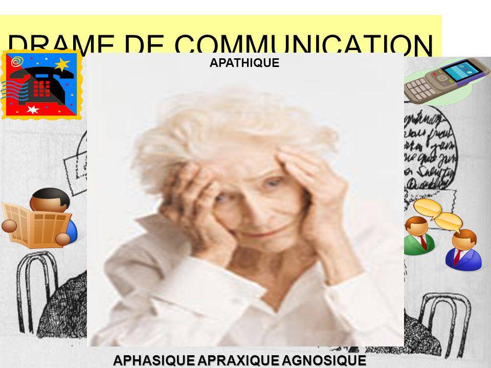 DRAME DE COMMUNICATION