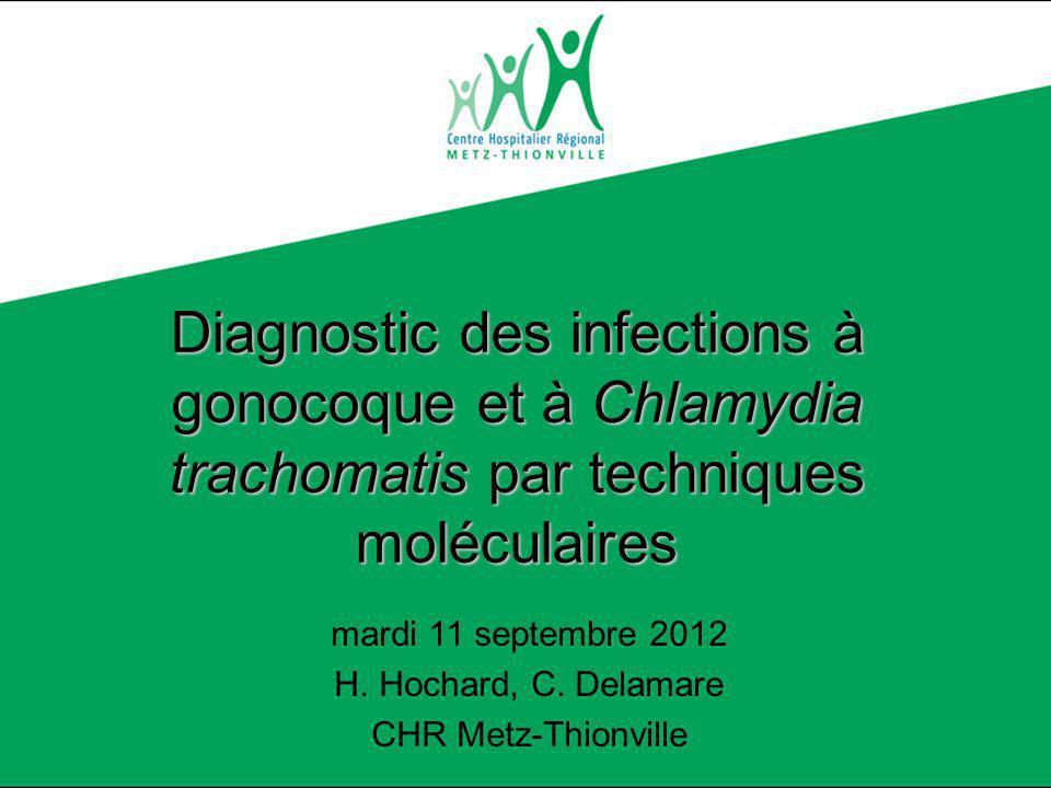 Diagnostic des infections à gonocoque par techniques moléculaires