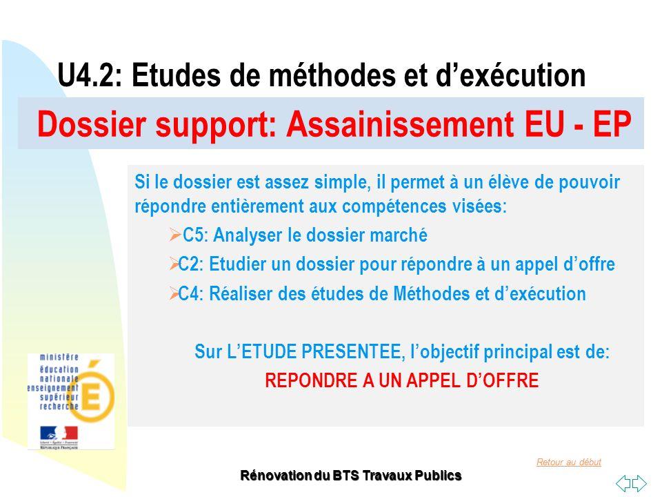U4.2: Etudes de méthodes et d'exécution