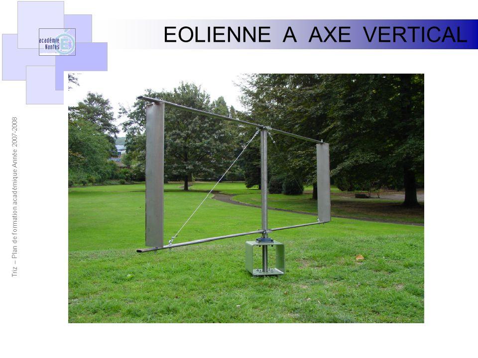 EOLIENNE A AXE VERTICAL