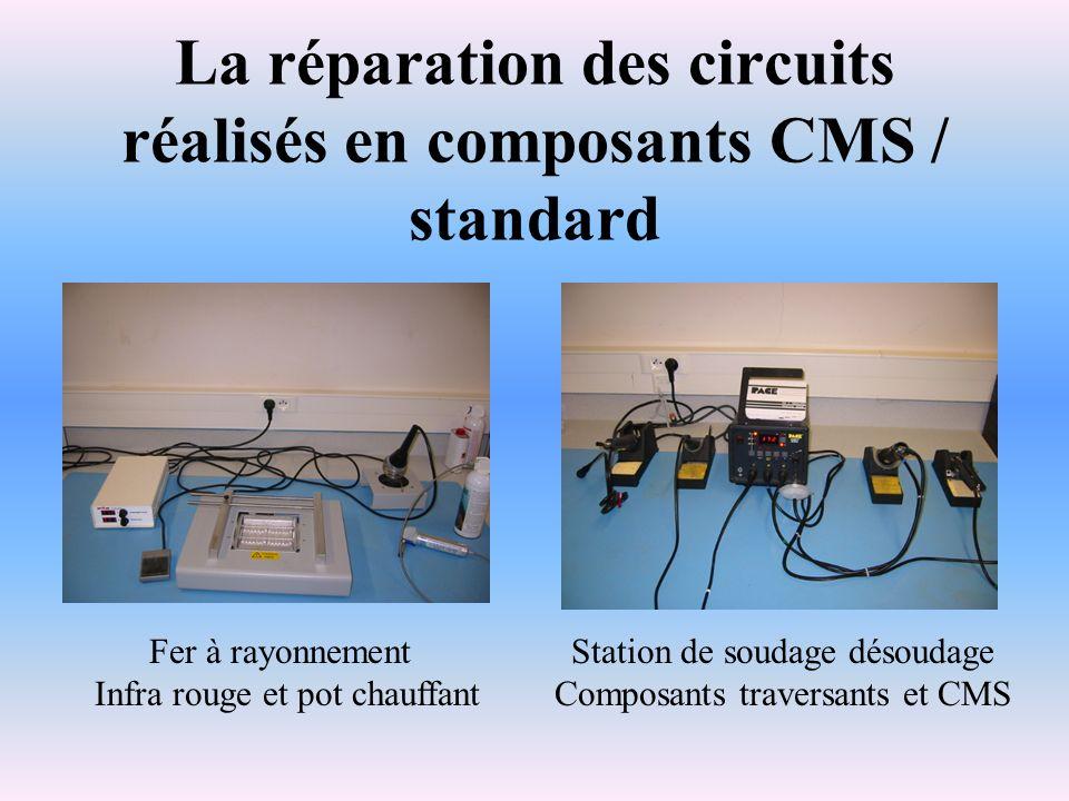 La réparation des circuits réalisés en composants CMS / standard
