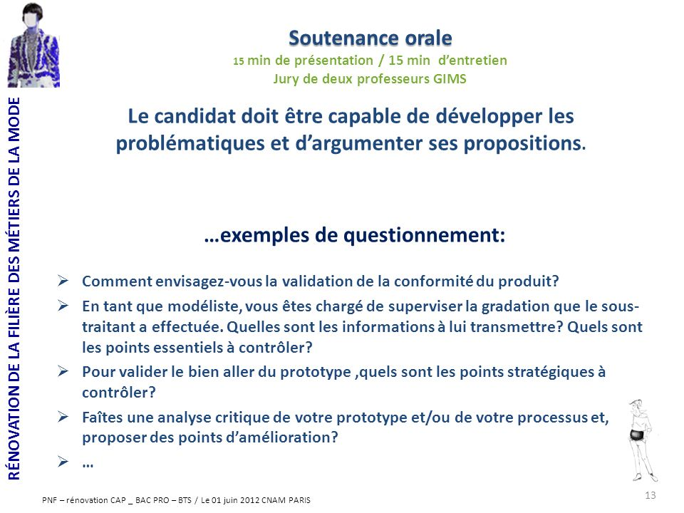 …exemples de questionnement: