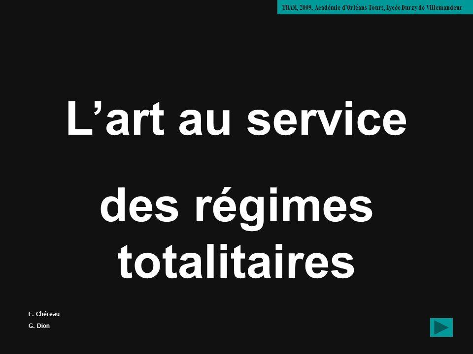 des régimes totalitaires