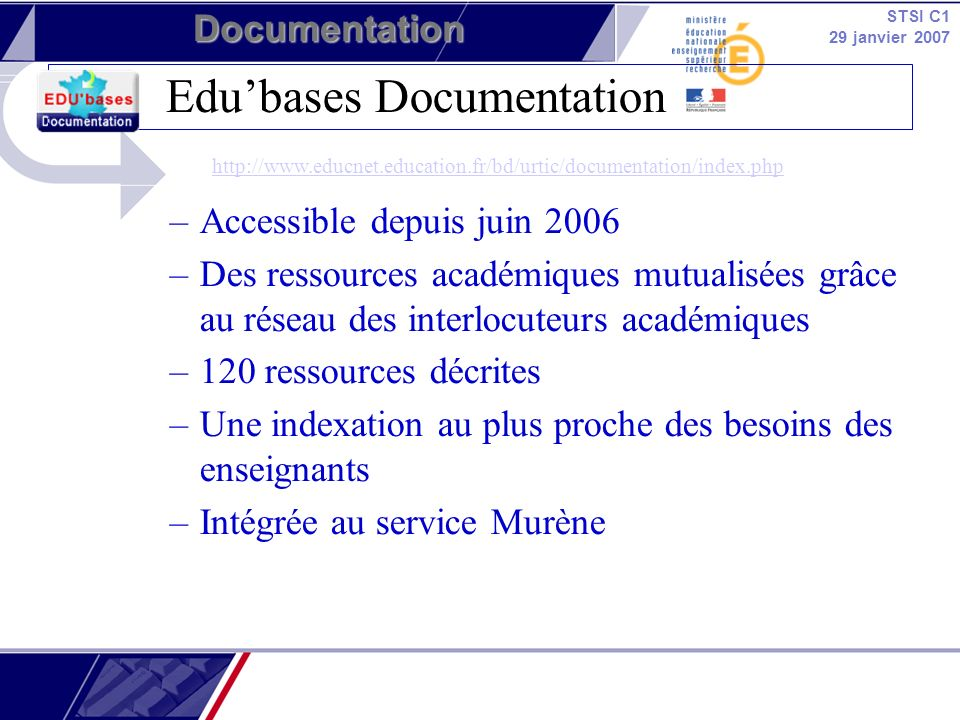 Edu'bases Documentation