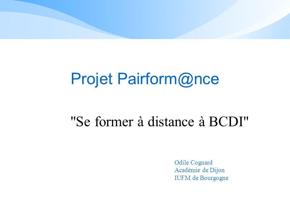 Se former à distance à BCDI