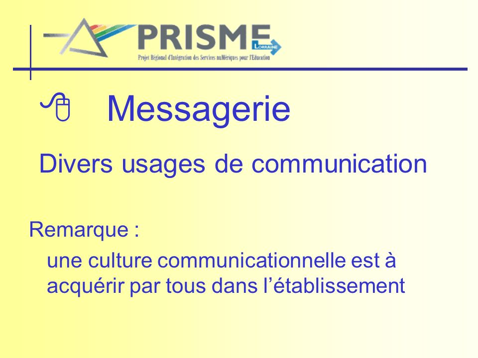 Divers usages de communication
