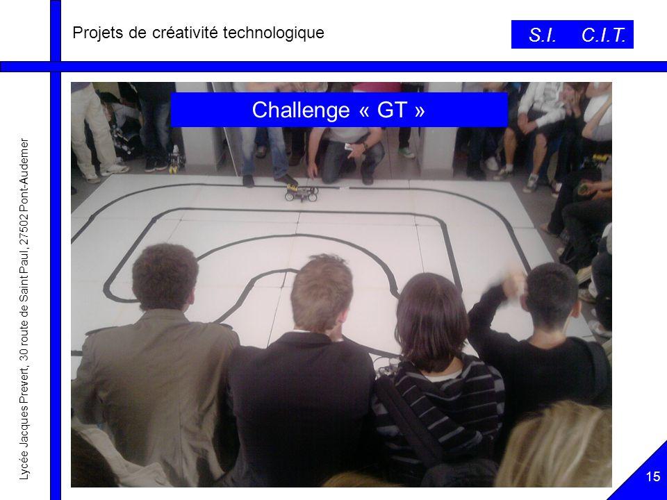 Projets de créativité technologique