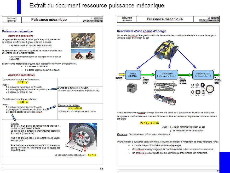 Extrait du document ressource puissance mécanique