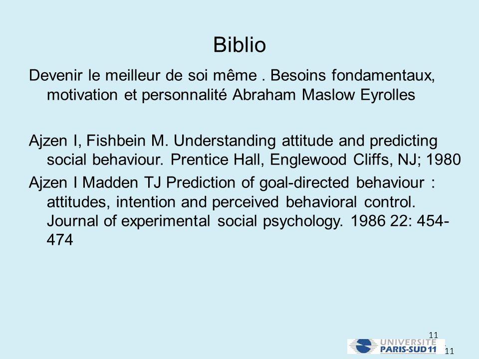 Biblio Devenir le meilleur de soi même . Besoins fondamentaux, motivation et personnalité Abraham Maslow Eyrolles.