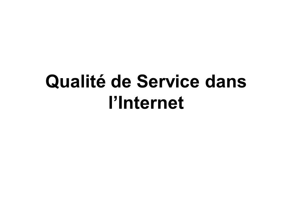 Qualité de Service dans l'Internet