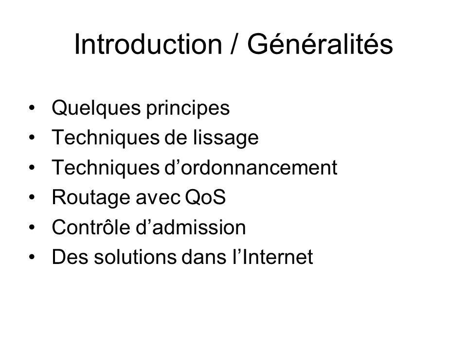 Introduction / Généralités