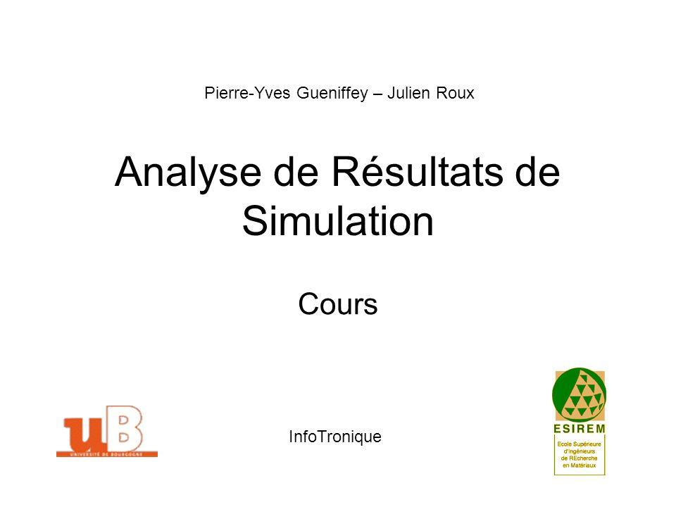 Analyse de Résultats de Simulation