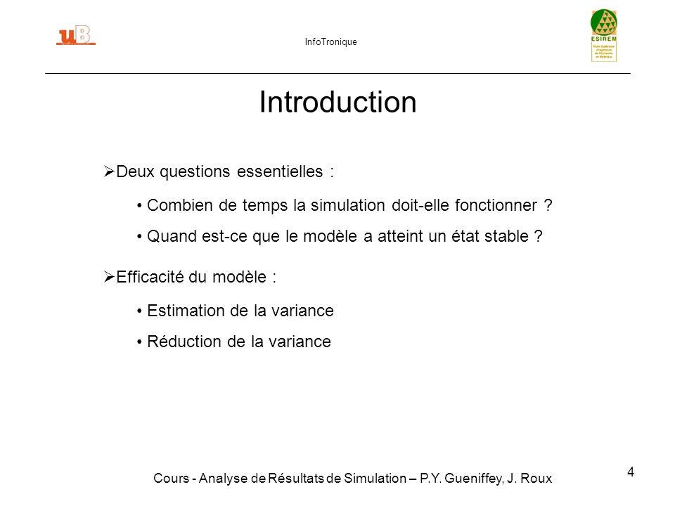 Introduction Deux questions essentielles :