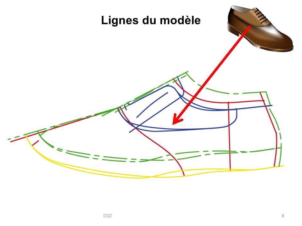Lignes du modèle DGZ