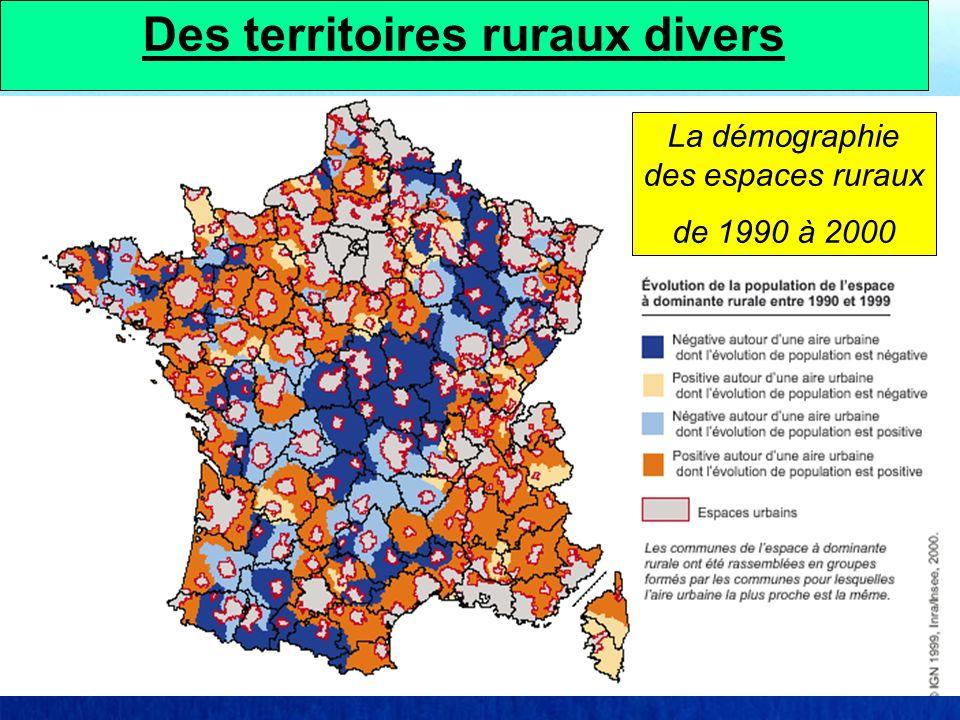 Des territoires ruraux divers