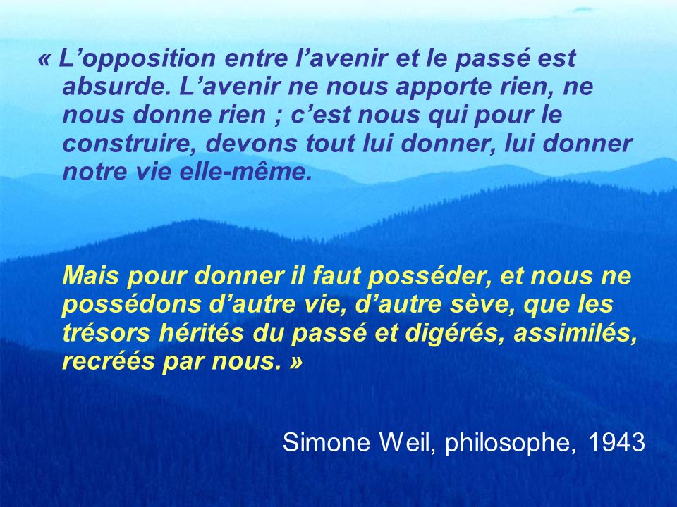 Simone Weil, philosophe, 1943