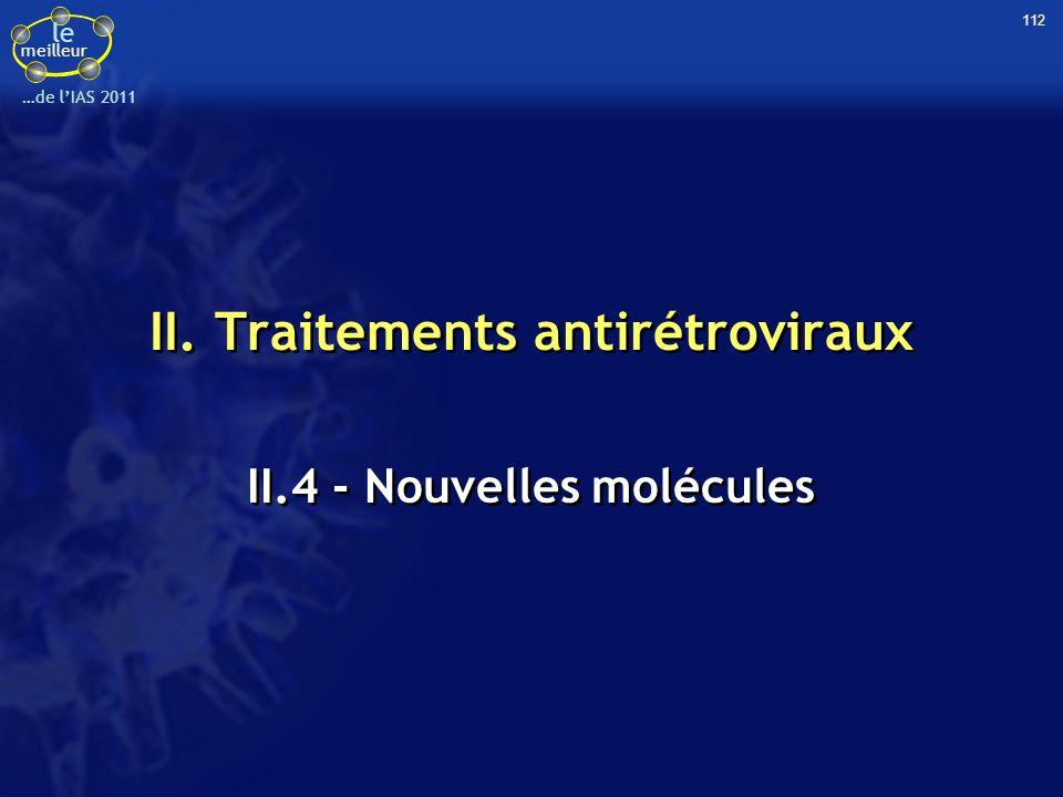 II. Traitements antirétroviraux