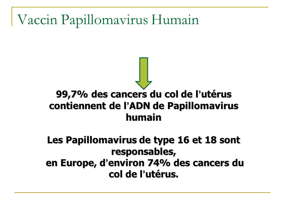 Vaccin Papillomavirus Humain