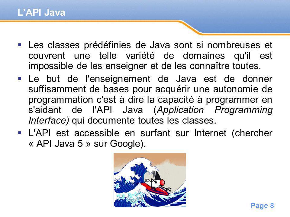 L'API Java