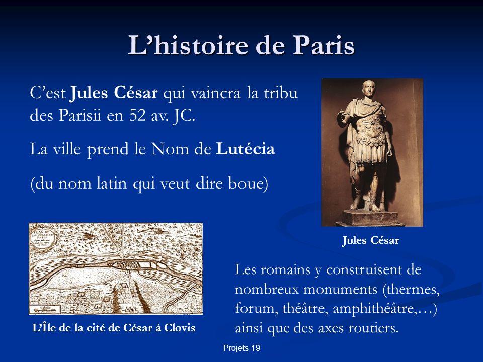 L'Île de la cité de César à Clovis