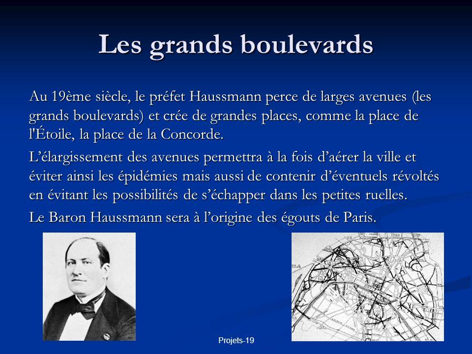 Les grands boulevards