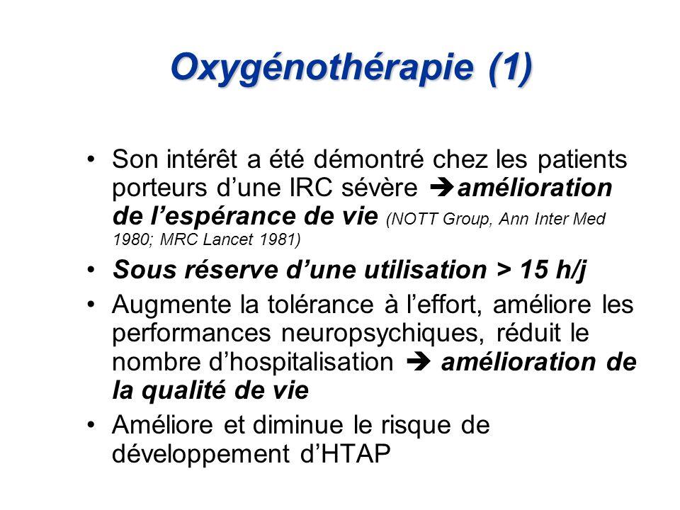 Oxygénothérapie (1)