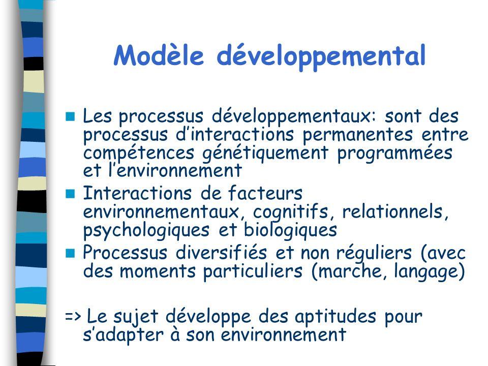 Modèle développemental
