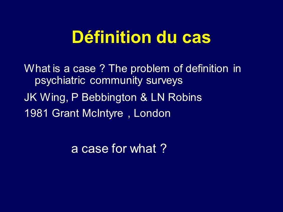 Définition du cas a case for what