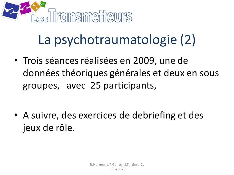 La psychotraumatologie (2)