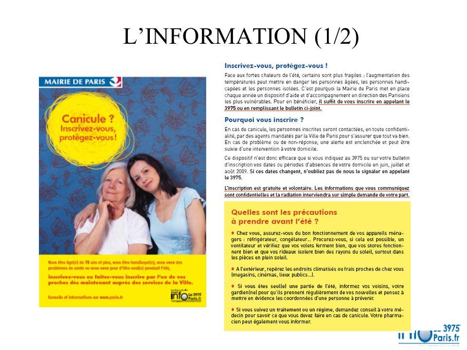 L'INFORMATION (1/2)