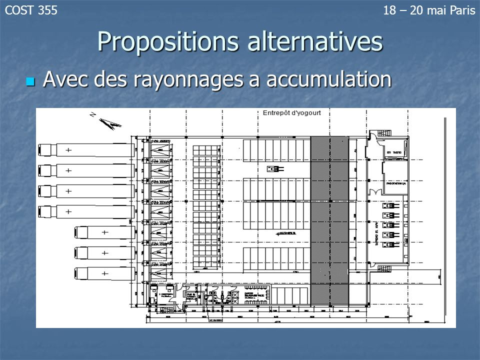 Propositions alternatives