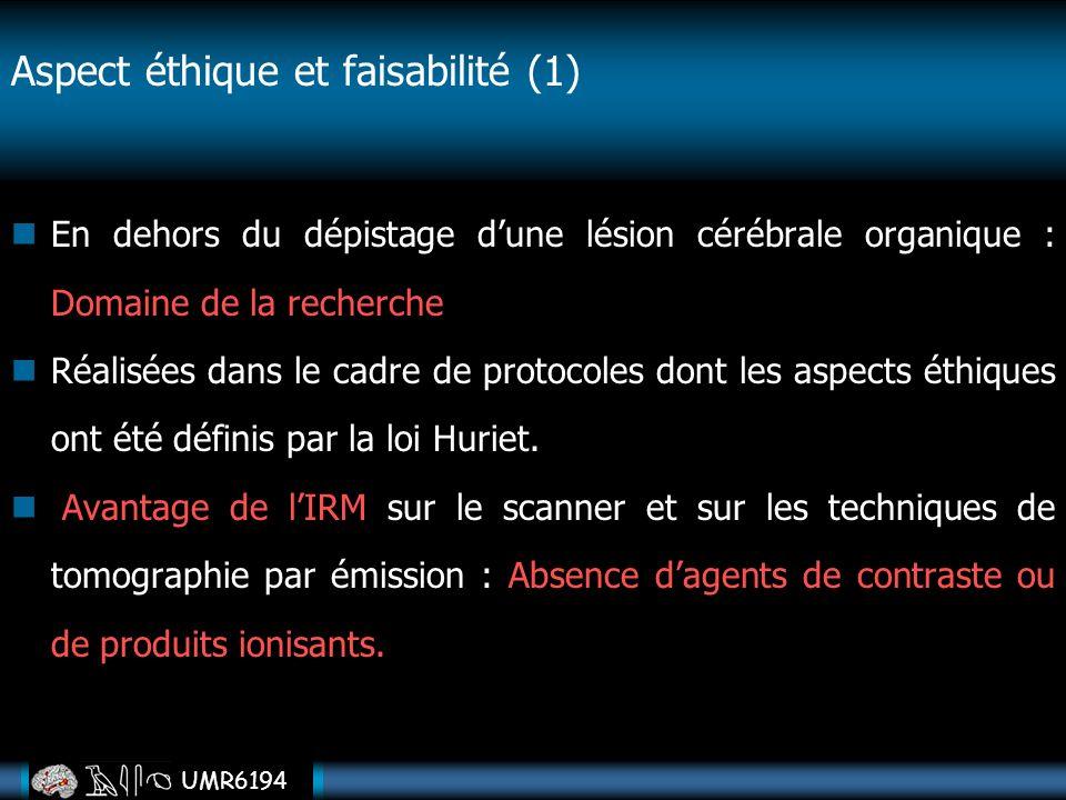 Aspect éthique et faisabilité (1)