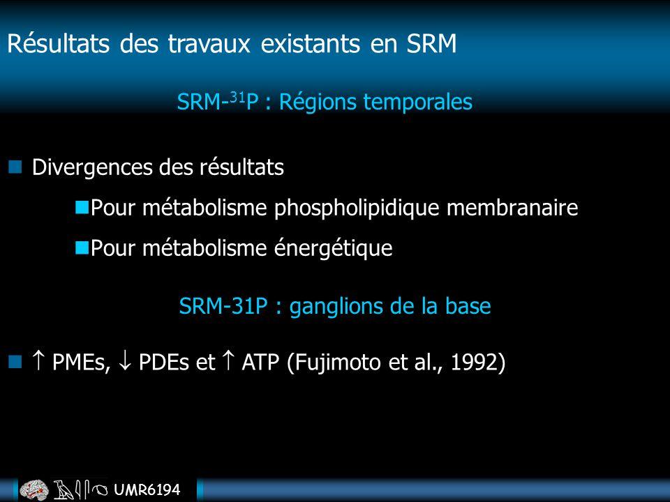 Résultats des travaux existants en SRM