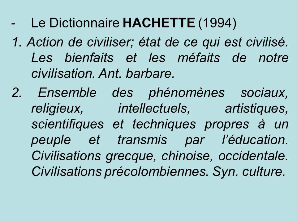Le Dictionnaire HACHETTE (1994)