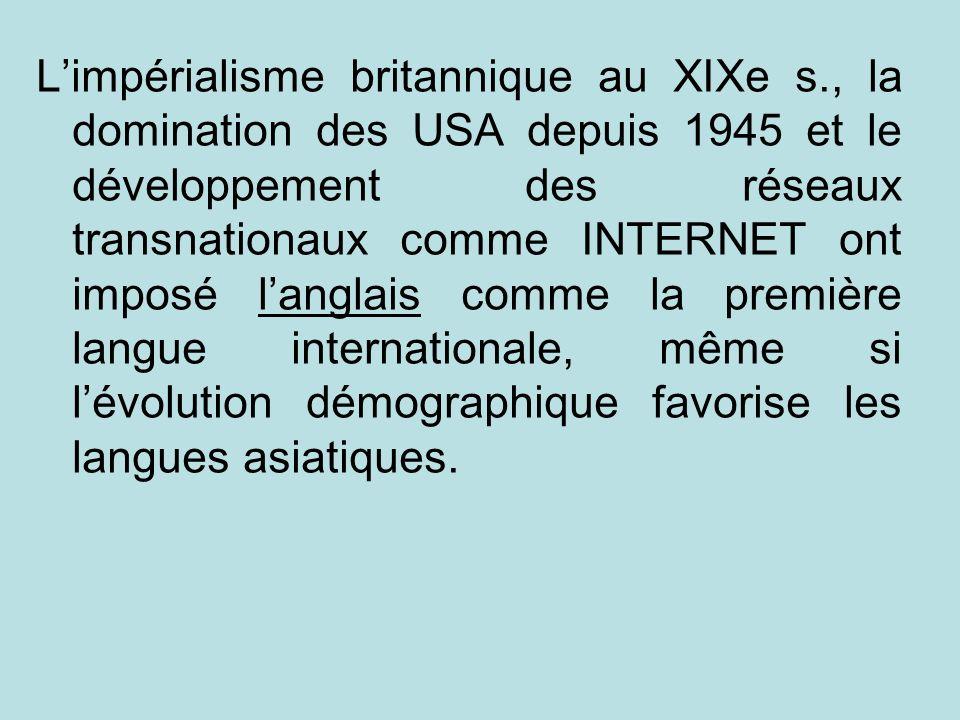 L'impérialisme britannique au XIXe s