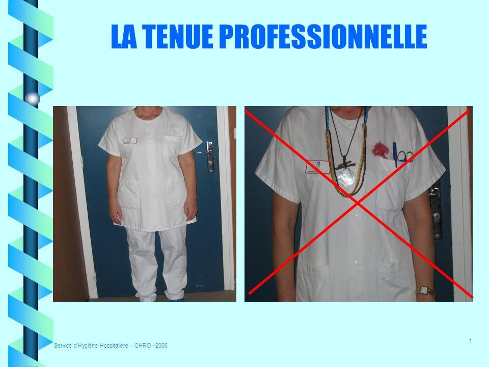 LA TENUE PROFESSIONNELLE