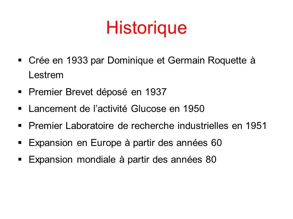 Historique Crée en 1933 par Dominique et Germain Roquette à Lestrem