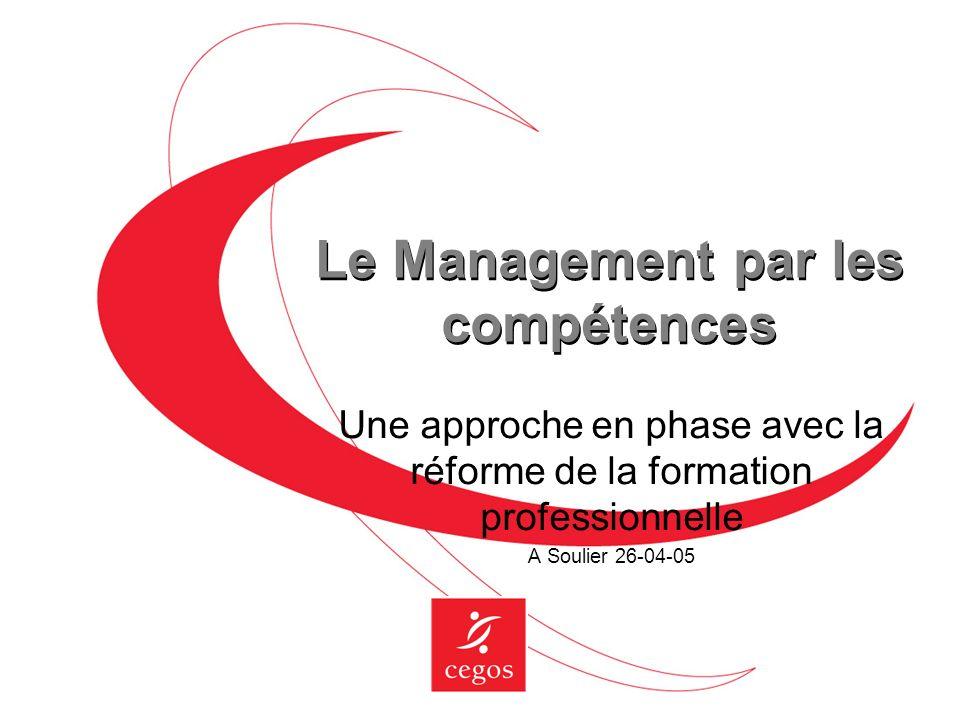 Le Management par les compétences