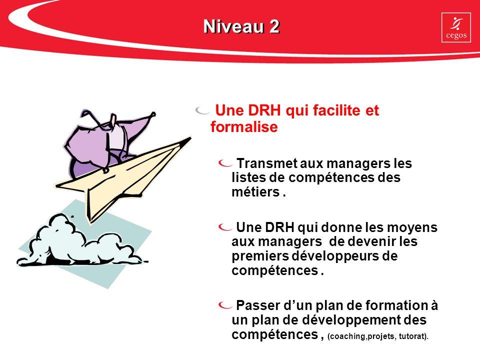Niveau 2 Une DRH qui facilite et formalise