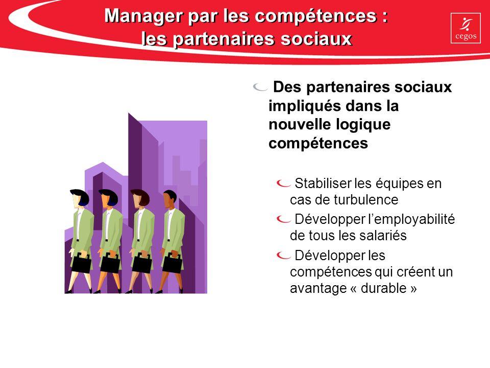 Manager par les compétences : les partenaires sociaux
