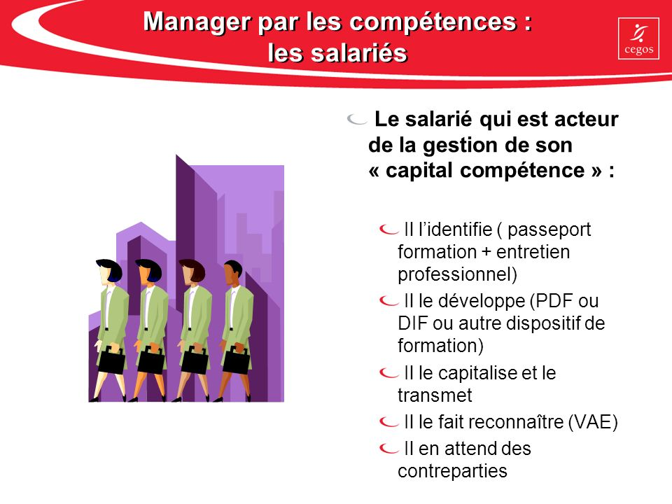 Manager par les compétences : les salariés