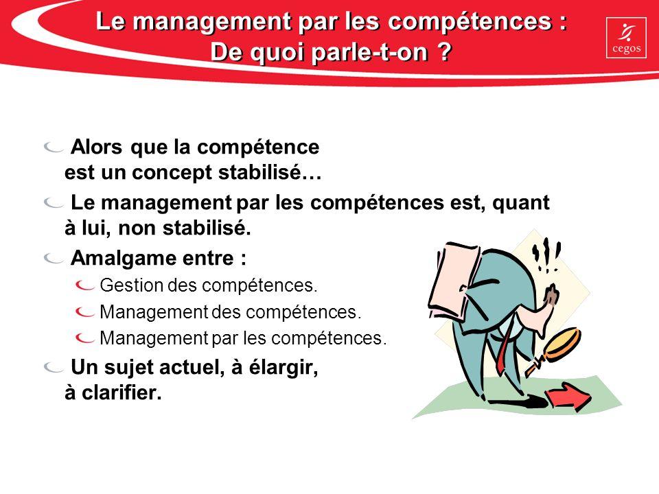 Le management par les compétences : De quoi parle-t-on