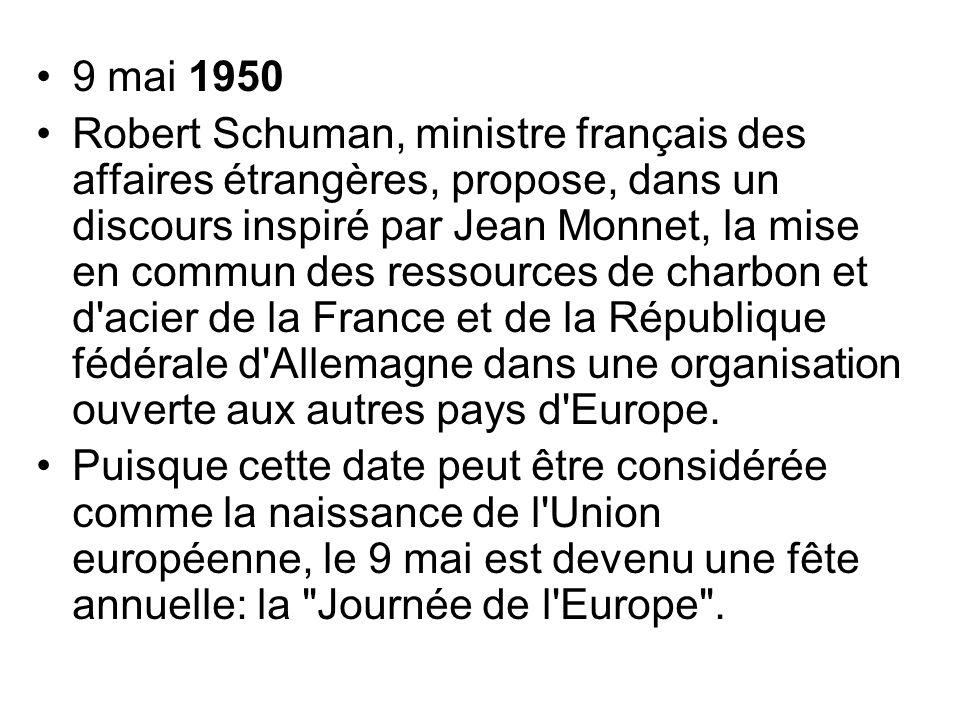 9 mai 1950