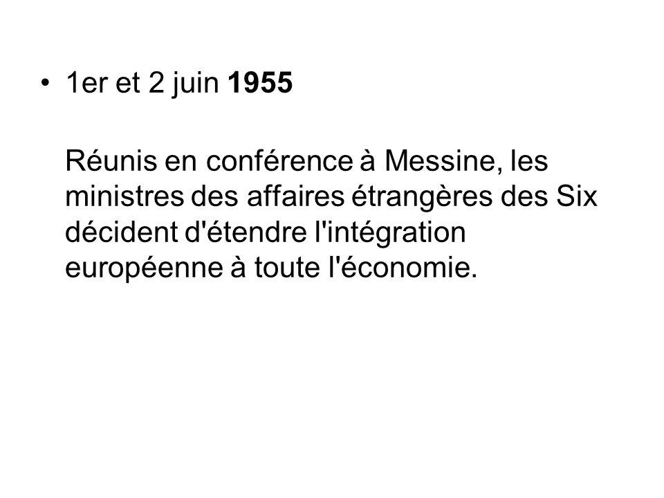 1er et 2 juin 1955