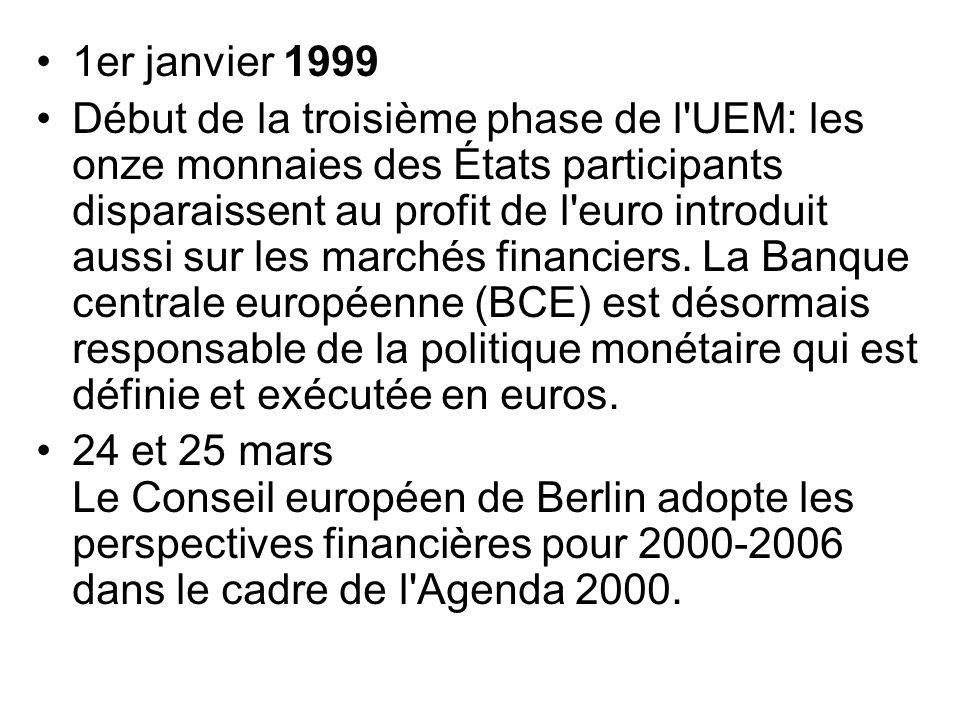 1er janvier 1999