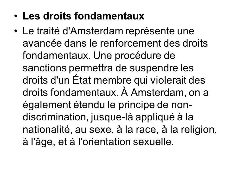 Les droits fondamentaux