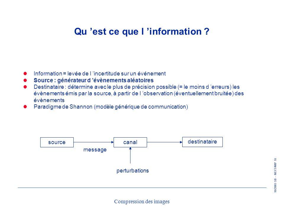 Qu 'est ce que l 'information