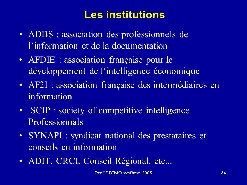 AF2I : association française des intermédiaires en information