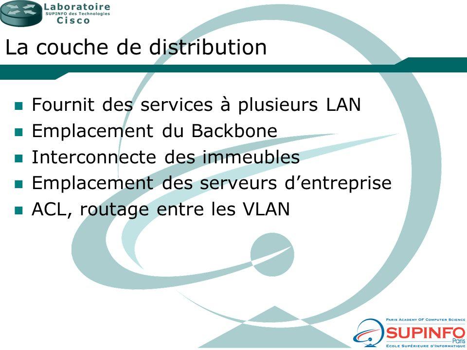 La couche de distribution